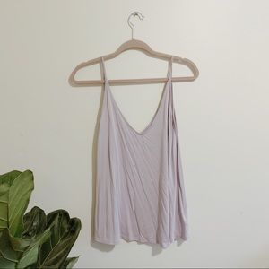 Silence and Noise Lilac Tank Top